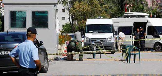 Ataque embajada israelí en Ankara, Turquía | Foto: Reuters