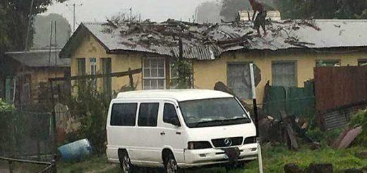 Paso de la Tormenta Matthew por Barbados y Martinica |Foto vía Twitter