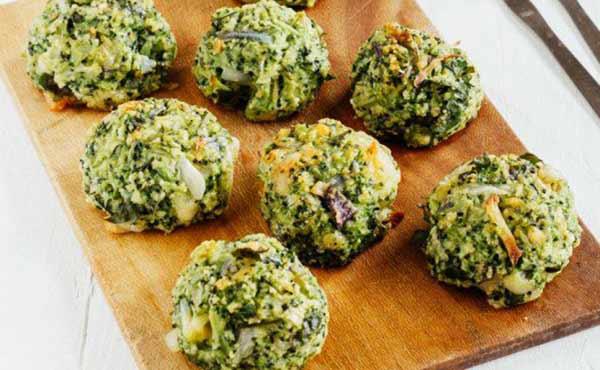 Albóndigas de brocoli | Foto referencial