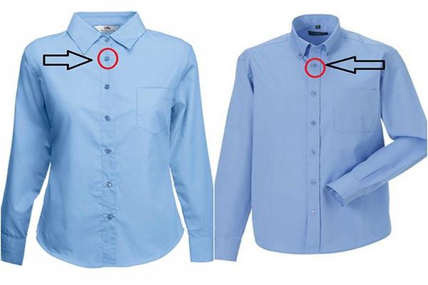 En Mujeres Por De Hombres Lados Y Están Camisas Qué Los Botones F6w8q6HO