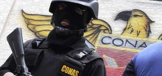 Agente del Comando Nacional Antiextorsión y Secuestro (CONAS) | Imagen de referencia