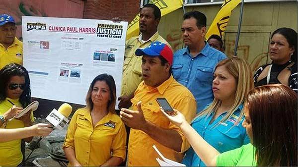 Concejal Luis Barrios | Foto: @alexascarpita