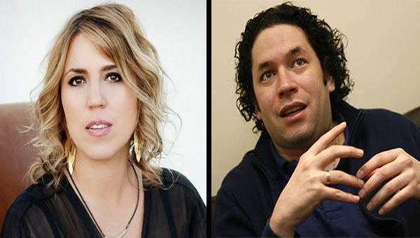 Gabriela Montera / Gustavo Dudamel | Imagen: Notitotal