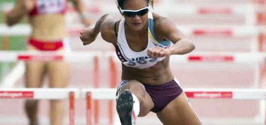 Génesis Romero, subcampeona en 100 m planos y ganadora en los 200 m de la Liga de Atletismo