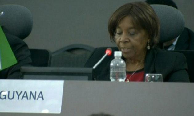 Embajadora de Guyana en Venezuela, Marilyn Cheril Miles|Foto: Noticias24