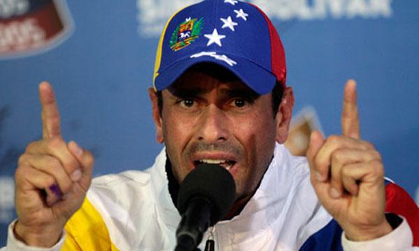 Gobernador del estado Miranda, Henrique Capriles | Foto: Archivo