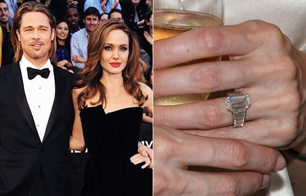 Angelina Jolie / anillo de bodas |Imagen referencial