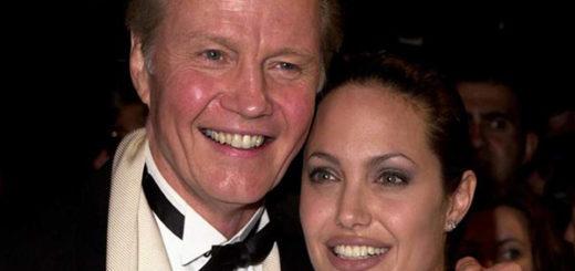Jon Voight y Angelina Jolie |Foto: Archivo