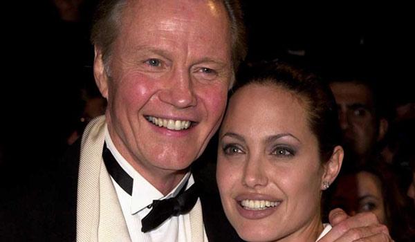 Jon Voight y Angelina Jolie (padre e hija) |Foto: Archivo