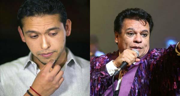 Juan Gabriel y su hijo