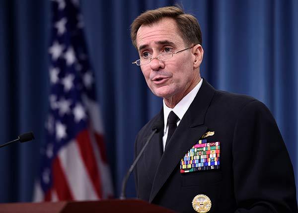 John Kirby, portavoz del Departamento de Estados Unidos |Foto: Washinntontimes.com