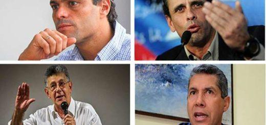 Candidatos presidenciales | Foto: composición Notitotal