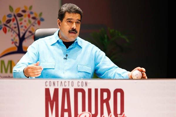 Nicolás Maduro |Foto: presa presidencial Twitter