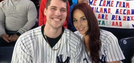 Pareja en el Yankee Stadium | Foto: AP