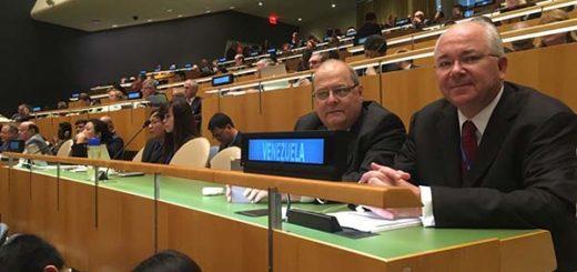 Delegación venezolana en la ONU |Foto: @RRamirezVE