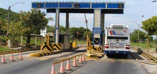 Peaje Los Acacios en Colombia | Imagen de referencia