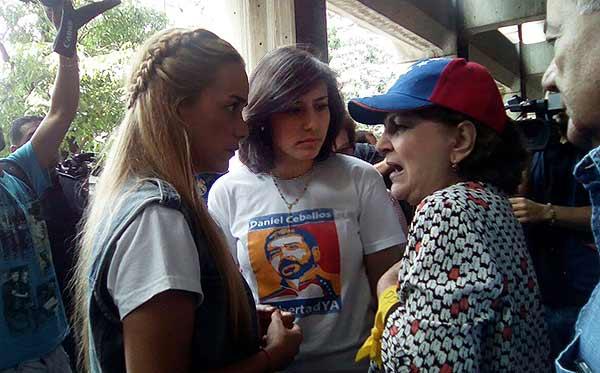 Esposas de dirigentes políticos presos | Foto: @unidadvenezuela