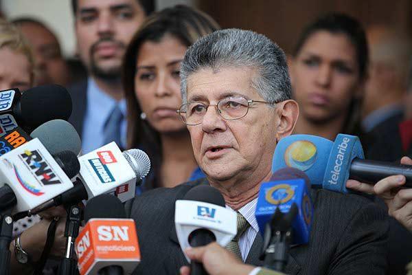 Henry Ramos Allup, dirigente de oposición |Foto: @AsambleVE