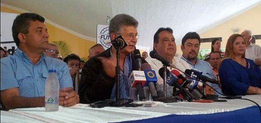 Henry Ramos Allup en Maracaibo | Foto: Twitter