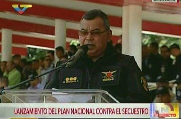 Ministro Néstor Reverol |Foto: captura de video