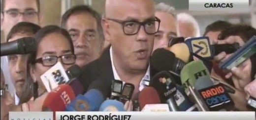 Jorge Rodríguez | Foto: captura de video