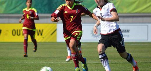 Venezuela vs. Alemania / sub 17 femenino | Foto:
