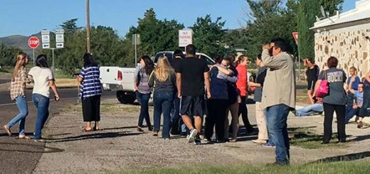 Tiroteo en secundaria de Texas dejó un saldo de dos fallecidos  Foto cortesía