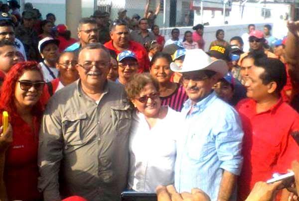 Tibisay Lucena en acto oficialista |Foto: La Patilla