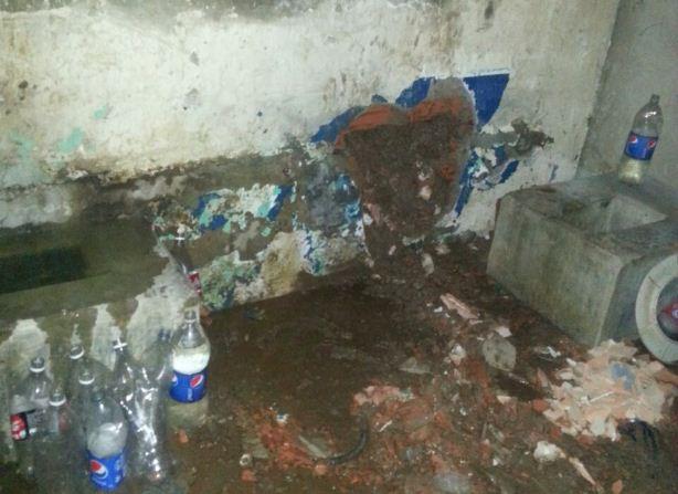 Túnel en calabozo de PoliGuacara   Foto vía Twitter