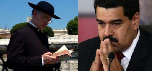 Padre Fortea Cucurull y Nicolás Maduro
