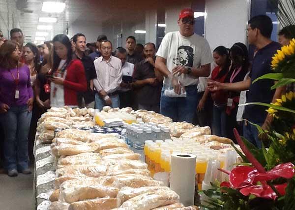 Desayuno en la Vicepresidencia |Foto: @ViceVenezuela