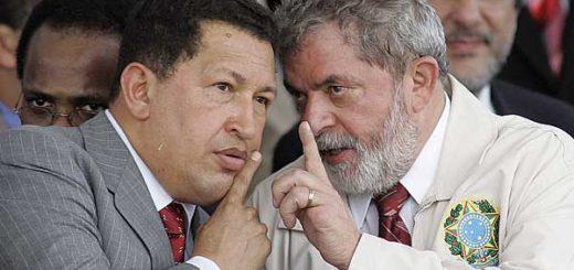Luiz Inácio Lula da Silva y Hugo Chávez | Foto: AP
