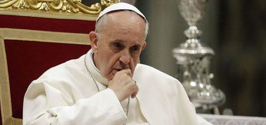 Papa Francisco, máximo líder del Vaticano |Foto cortesía