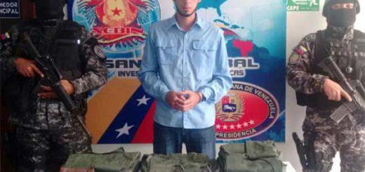 Dirigente de Voluntad Popular (VP) detenido por el Sebin en el estado Táchiea | Foto: Cortesía