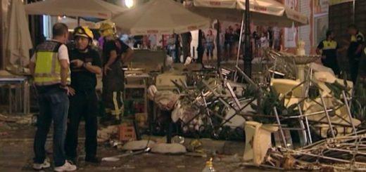 La explosión se produjo mientras la ciudad de Vélez-Málaga celebraba la feria de San Miguel|Foto: AP