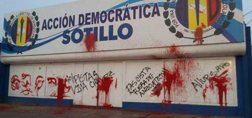 Sede de la AD en Anzoátegui | Foto: @BarretoSira
