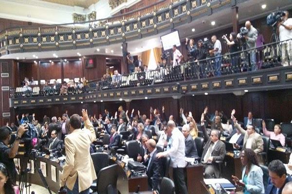Aprueban Proyecto de Acuerdo para la restitución de la Democracia y de la Constitución |Foto: @AsambleaVE