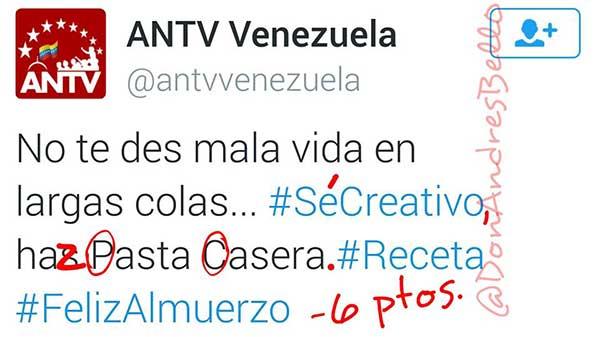ANTV   Foto: Don Andres Bello (Facebook)