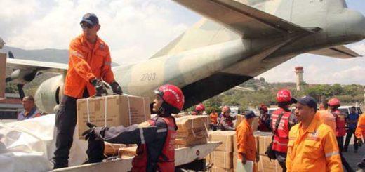 Avión con ayuda humanitaria desde Venezuela llega a Haití | Foto: @jmkarg