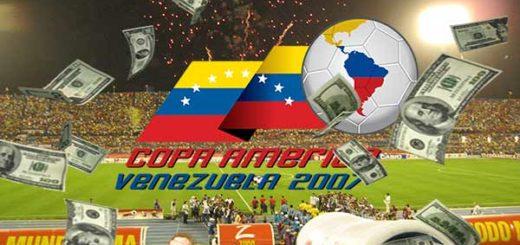 Copa América 2007 se celebró en Venezuela   Composición Notitotal