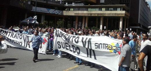 Trabajadores del CNE exigen aumento salarial y contrato colectivo |Foto cortesía