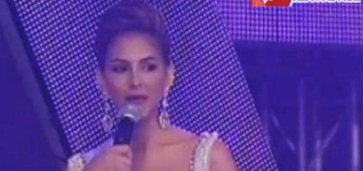 Miss Distrito Capital en la ronda de preguntas | Foto: Captura de video