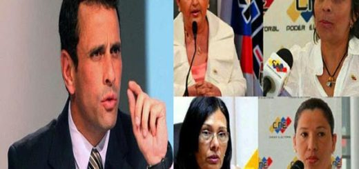 Capriles insta a las rectoras del CNE evaluar el plebscito en Colombia |Foto: Notitotal