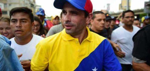Henrique Capriles en la Toma de Venezuela |Foto: Noticias de Venezuela