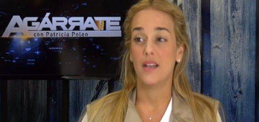 Confesiones de Lilian Tintori en ¡Ágarrate! |Captura de video
