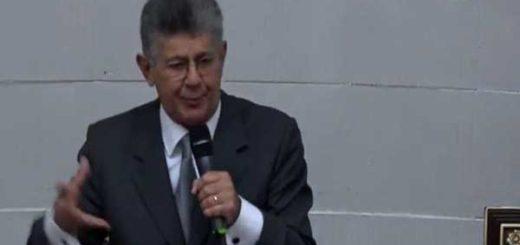 Presidente de la Asamblea Nacional, Henry Ramos Allup |Captura