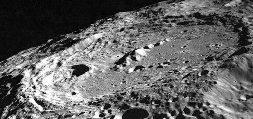 Cráter lunar |Foto: Wkipedia