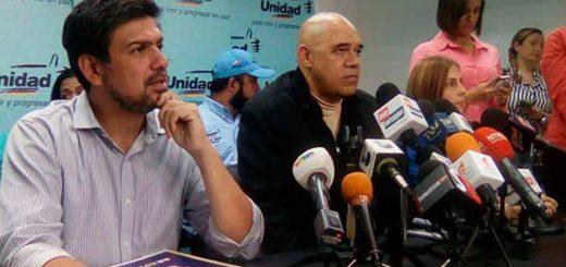 Carlos Oscariz y Chúo Torrealba | Foto archivo