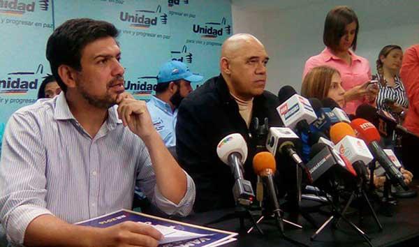 Carlos Oscariz y Chúo Torrealba | Foto: @unidadvenezuela