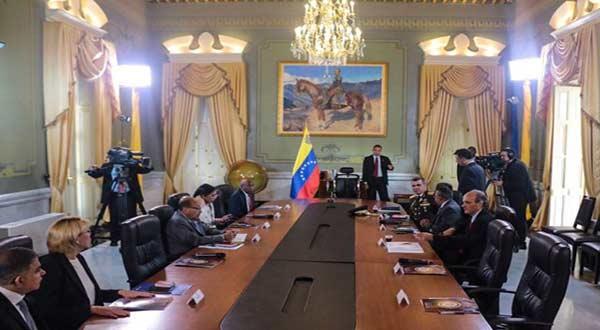 Consejo de Defensa de la Nación fue instalada ayer 26 por el Presidente |Foto: @PresidencialVen